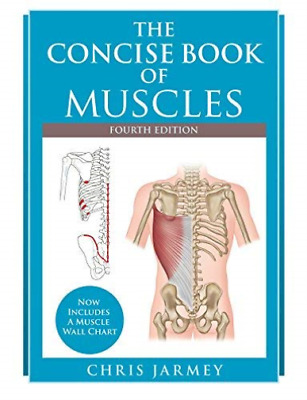 Jarmey Chris-The Concise Book Of Muscles BOOK NEW