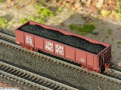 Fits DIMI-TRAINS 3-pack Hay Brothers COAL LOADS INTERMOUNTAIN GSC Gondolas