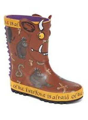 Tu Boys Girls Gruffalo Wellies Infant 4 BNWT!!