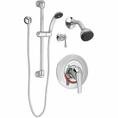 American Standard 1662223.002 Commercial Shower System Complete Kit, Polished Ch