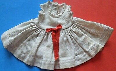 "1950s Vintage Wendy kin Doll clothes DRESS outfit Virga Muffie 8"" Vogue Ginny"