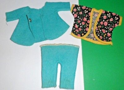 "1950s Vintage Doll clothes felt outfit Virga Muffie Wendy Kin 8"" Vogue Ginny"