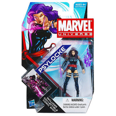 """MARVEL UNIVERSE Collection_PSYLOCKE 3.75 """" action figure_Series 4_New & Unopened"""