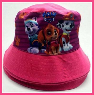 Children's Cotton Bucket Hat - PAW PATROL PINK - Top Quality