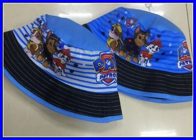 Children's Cotton Bucket Hat - PAW PATROL BLUE - Top Quality