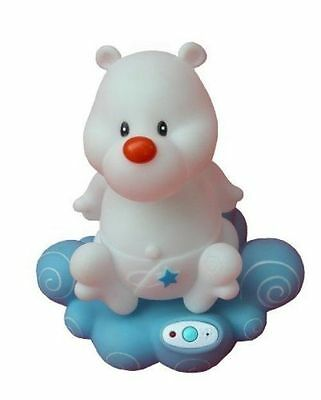 Primo Baby Voice Activated Night Light With Music White - 230BEAR