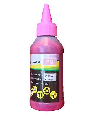 100ML Photo Magenta Refill Ink for Canon CLI-42 Pixma Pro-100 Printer Cartridge