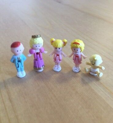 Polly Pocket Family Dolls (free Worldwide Shipping)