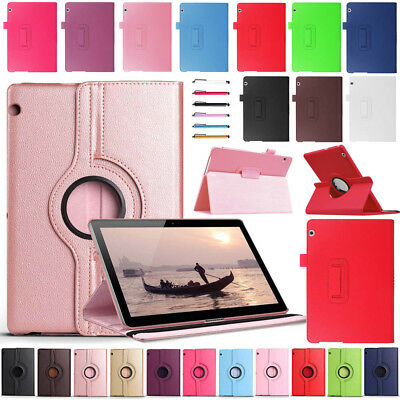 "For Huawei Mediapad T3 M5 7"" 8"" 8.4"" 10"" 10.8"" Tablet Various Leather Case Cover"
