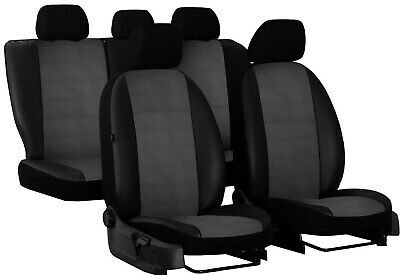 Eco Leather Embossed Tailored Seat Covers For Skoda Yeti 2009-2014
