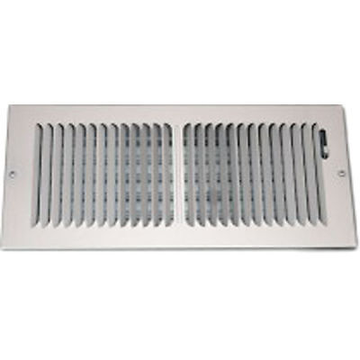 12X5 White Stamped 2-Way Vent Cover – Shoemaker 850-0 Series