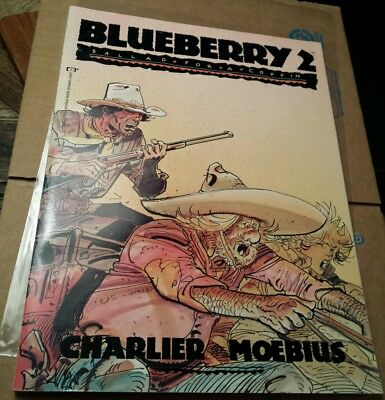 Blueberry 2 Ballad For A Coffin Charlier Moebius Graphic Novel VF