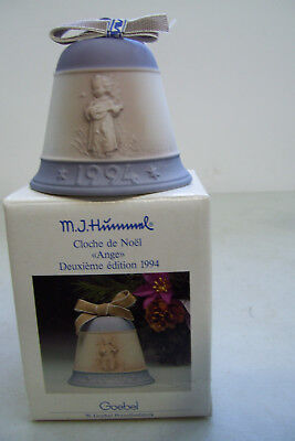 M. J.Hummel Christmas Bell Festival Harmony 1994 Second Edition Goebel Germany