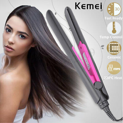 Hair Salon Straightener Flat Iron Professional Ceramic Tourmaline Plate