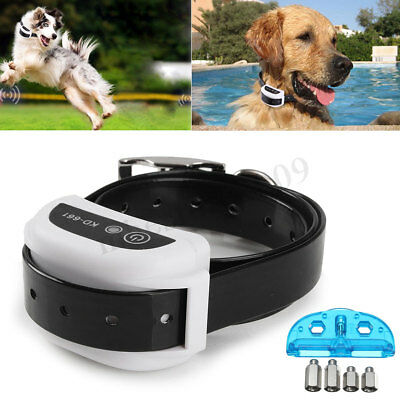Wireless Pet Dog Fence Collar Receiver Training Containment System Waterproof !