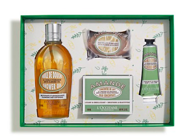 NEW L'Occitane 2018 Christmas Delicious Almond Collection Gift Pack Free Post
