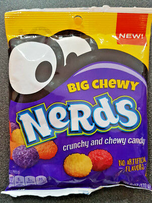 2 x Big Chewy Nerds 170g USA - NEW!