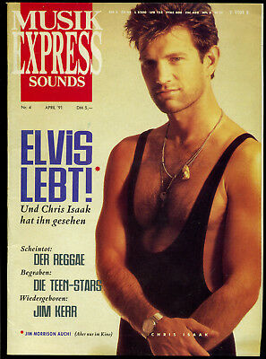 Musik Express Sounds -- 1991 - Nr. 4 -- Elvis lebt --