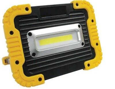 New Heavy Duty Robust Cob Led Rechargeable Flood Work Lamp Light 1000 Lumens Sl5