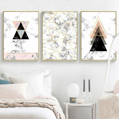 Geometric Canvas Poster Abstract Wall Art Print Nordic Decoration Picture