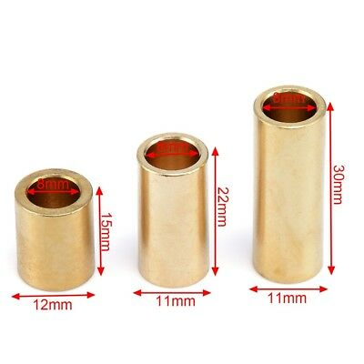 8mm 3D Printer Copper Sleeve Bearing Bushing For 3D Printer Ultimaker Slider