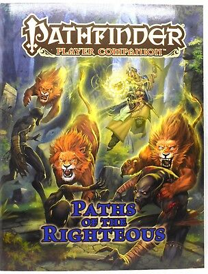 Pathfinder Player Companion PATHS OF THE RIGHTEOUS 9781601259103 - 46613