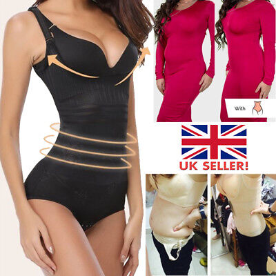 Underbust Cincher Full Body Shapewear Bodysuit Waist Trainer Shaper Women Corset