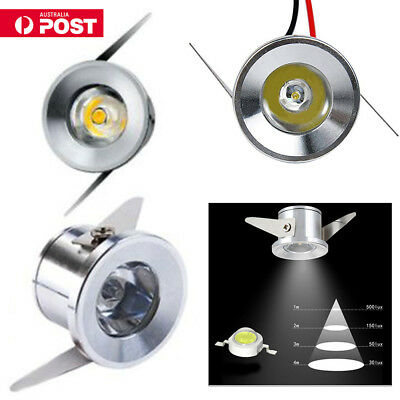 10x LED Indoor Recessed Small Cabinet Mini Spot Lamp Ceiling Downlight Lighting