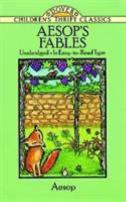 Aesop's Fables (Dover Children's Thrift Classics) by Aesop
