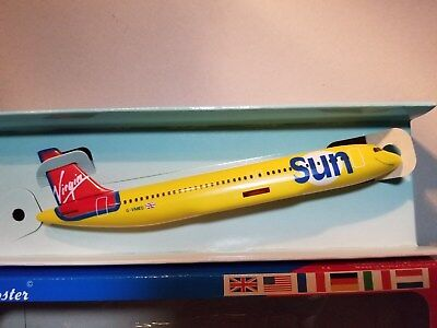 Wooster (W685) Virgin Sun Airlines A320 1:200 Scale Plastic Snapfit Model
