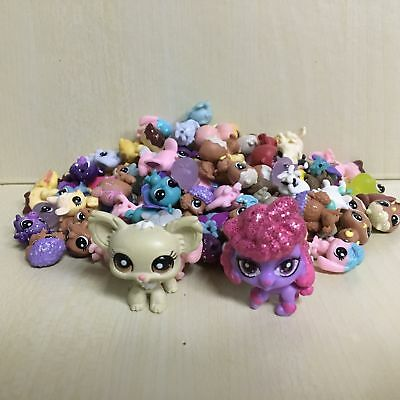 10pcs Littlest Pet Shop LPS Mini Baby Toy Send Random+ Chihuahua Dog Figure