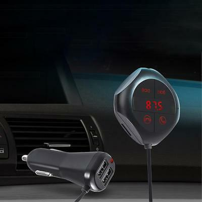 Handsfree Wireless FM Transmitter Bluetooth Car USB LCD MP3 Player Magnet bc&