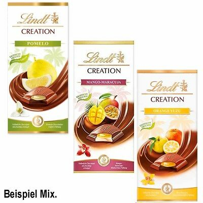 Lindt Creation Sommer Mix Tafeln 2018 750g MHD:12/18