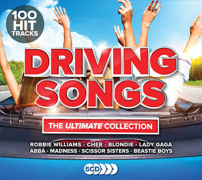 Various Artists : Driving Songs: The Ultimate Collection CD Box Set 5 discs