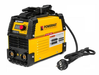 300A IGBT POWERMAT PM-MMA-300ST Welding Inverter Machine Welder + AUTO-HELMET
