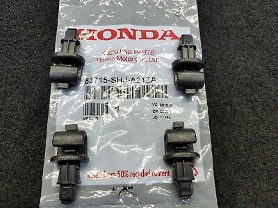 New Genuine Honda 2005 To 2010 Odyssey Sunshade Hooks (4) 83715-Shj-A21Za