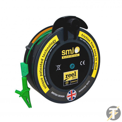 SMJ-50MTL Reel Pro 50m R2 Wander Test Lead with Crocodile Clip