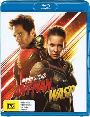 Ant-Man and the Wasp  - BLU-RAY - NEW Region B