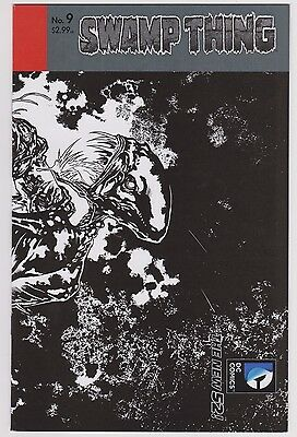 Swamp Thing #9 1:25 Paquette Variant (2011 series) New 52