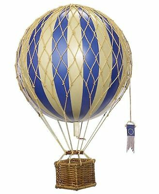 OPEN BOX Authentic Models Travels Light Hot Air Balloon Decoration Blue Free S/H