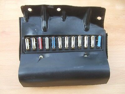 vw t25 fusebox - transporter t3 - fuse box - removed from 1982 van - vanagon