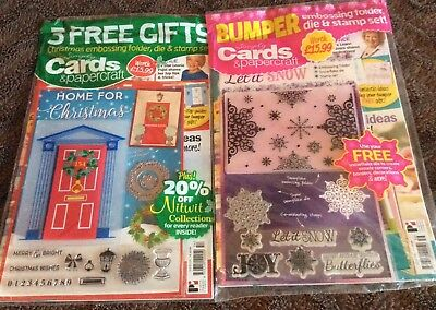 2 X Complete Craft Magazines Includes All Free Gifts