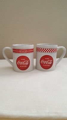Drink Coca-Cola in Bottles Coffee Mugs Red White Coke Logo Gibson