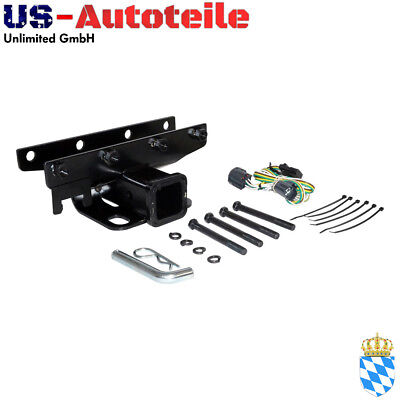 Trailer Hitch and Harness Master Kit, trasero (No CEE) Jeep Wrangler JK 2007+