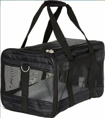 Sherpa Original Deluxe Pet Carrier, MD Black