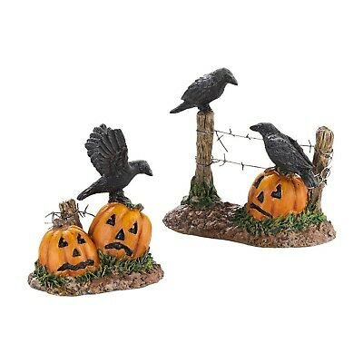 Department 56 Accessories for Villages Halloween Ravens, 1.77 inch (40307... NEW