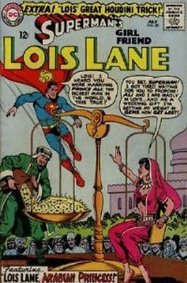 Lois Lane (Vol 1) Supermans Girl Friend #  58 Fine (FN) DC Comics SILVER AGE