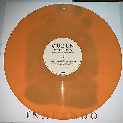 Queen, Innuendo,180 Gram Yellow Vinyl Lp, 2018 Eu Import