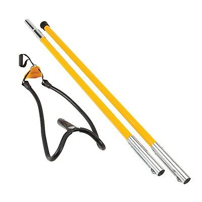Notch Set1027D Big Shot Throw Line Launcher Standard Kit, Black/Yellow New