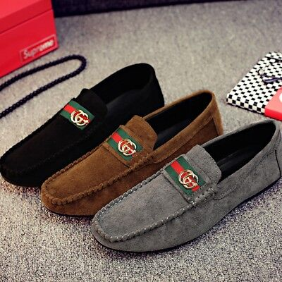 Mens Fashion Slip On Driving Shoes Comfort Light Moccasin Loafers Various Sizes